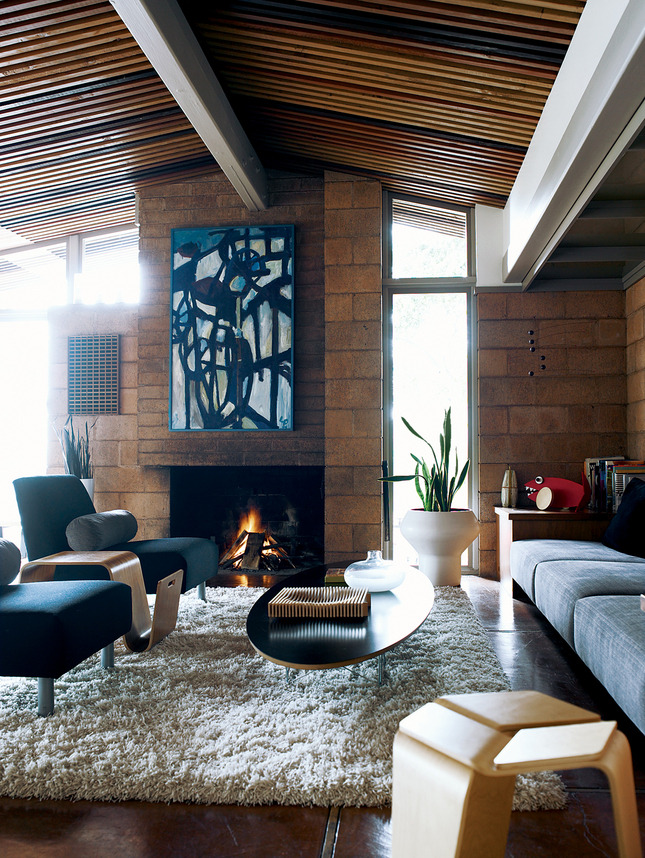 justthedesign:  Midcentury Living Room