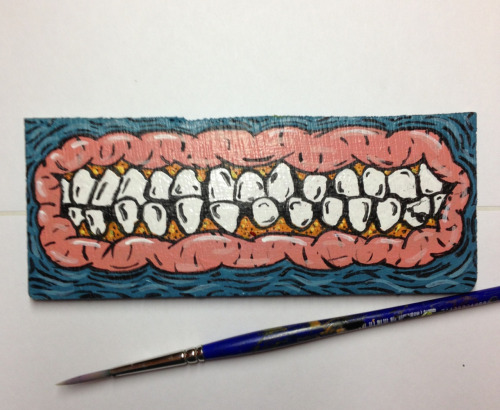 monkijuice:  Your Teeth