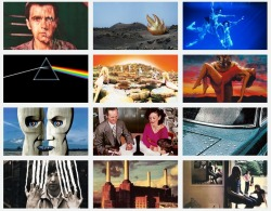 noiseymusic:  R.I.P. Storm Thorgerson (1944-2013), the artist behind many of our favorite album covers.