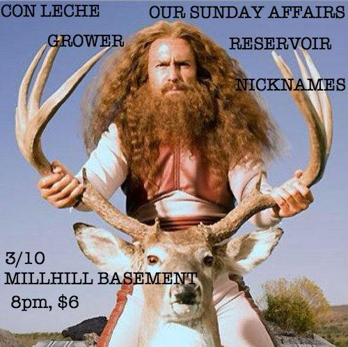 if you are in the trenton area you should come see my band con leche and dance around with all the sads.