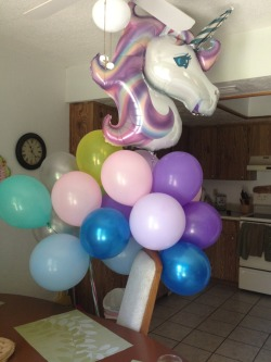campbelltoe:   He got me 23 balloons and asked for the most princessy balloon