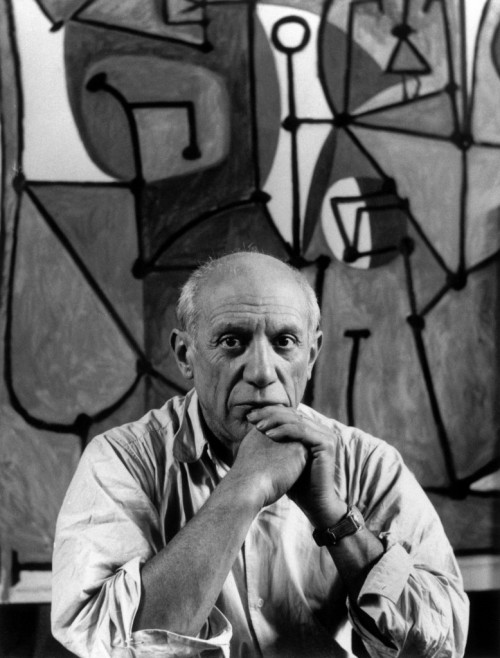 Picasso - 5'4 and one of the most famous artists ever.
