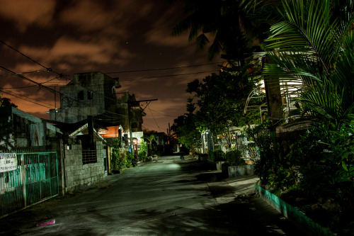 Montalban Neighborhood in long exposure. Looks a little bit creepy because of the clouds.