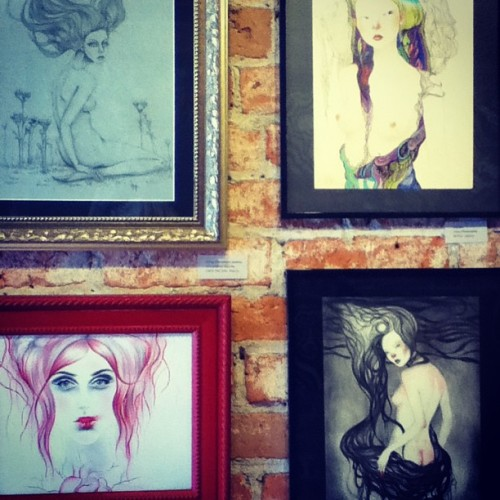 More lush original artwork by me @jel_ena_art and @amber_michelle_russell  #girl #gallery #goddess #instagood #instamood #artistoninstagram #fabulous #original