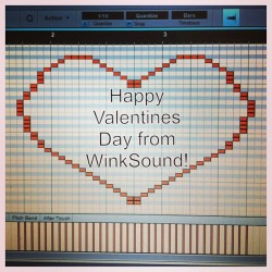 Have a safe and happy #Valentines Day from all of us at @WinkSound!