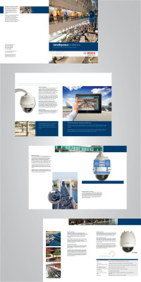 Brochure Design for Bosch Security Systems