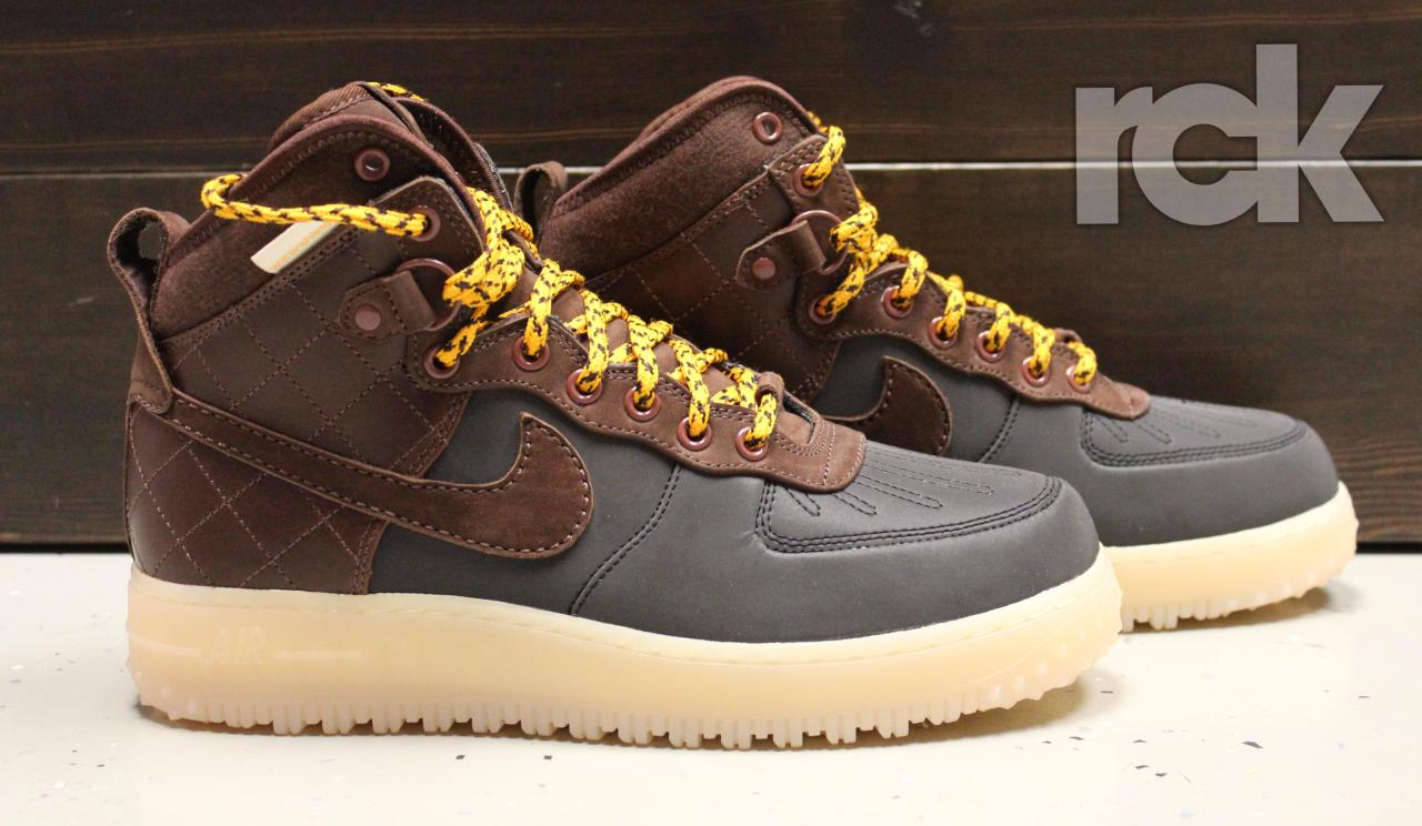 AF1 Duckboot - $165 - Black/Field Brown