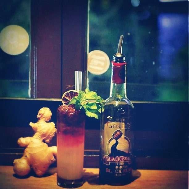 spiffydapper:  Homemade Ginger Beer from now on at #spiffydapper. Taking the classic Dark & Stormy and Moscow Mule to the next level.