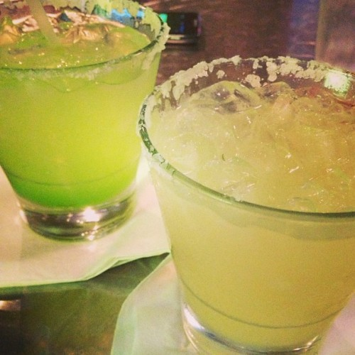 Margaritas in San Antonio, TX with @gerredmano (at The San Antonio Riverwalk)