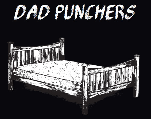 elliotbabin:  One of the shirt designs for upcoming U.S. Dad Punchers tour