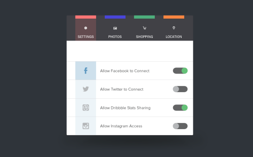 mobi1canobi:  http://dribbble.com/shots/966516-Menu-Settings/attachments/110869