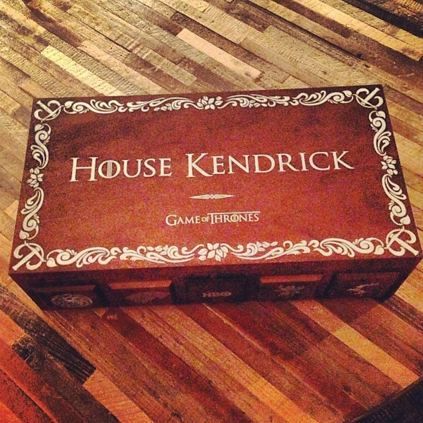 Anna Kendrick - Anna kendrick has her own GoT box…#jealous.