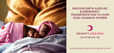In 2012, Shanti Uganda assisted in bringing 113 new lives into the world safely and peacefully, tested over 400 mothers and partners for HIV and other STIs, provided 1000 antenatal care appointments and run a weekly infant immunization and family planning program. Now they need to expand their services to meet the increasing needs of the community. (via Crazy Casa K: Good Work - The Shanti Uganda Society)