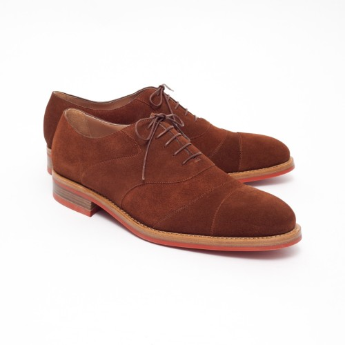 ovadiaandsons:  Snuff Suede Double Captoe Cricket Shoe