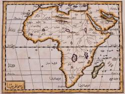 je-suis-une-reveuse:     An Ottoman map of Africa drawn in the 1600s - very cool and amazingly accurate source: CSUSB