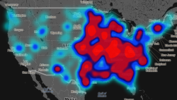 "thisistheverge:  'Geography of Hate' maps racism and homophobia on Twitter Twitter, even more than many other social media tools, can feel disconnected from the real world. But a group of students and professors at research site Floating Sheep have built a comprehensive map of some of Twitter's most distasteful content: the racist, homophobic, or ableist slurs that can proliferate online. Called Geography of Hate, the interactive map charts ten relatively common slurs across the continental US, either by general category or individually. Looking at the whole country, you'll often see a mass of red or what the map's creators call a ""blue smog of hate."" Zooming in, however, patches appear over individual regions or cities; some may be predictable, while others are not."