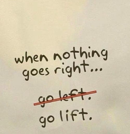 lovetheburnandrun:  sweatsweetsandstilettos:  Take it out on the weights  (via TumbleOn)