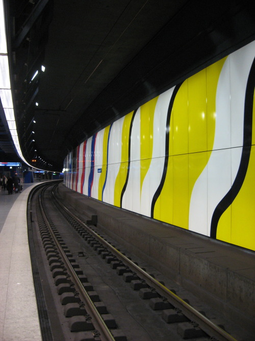 Train station in Zurich, CH. 2008