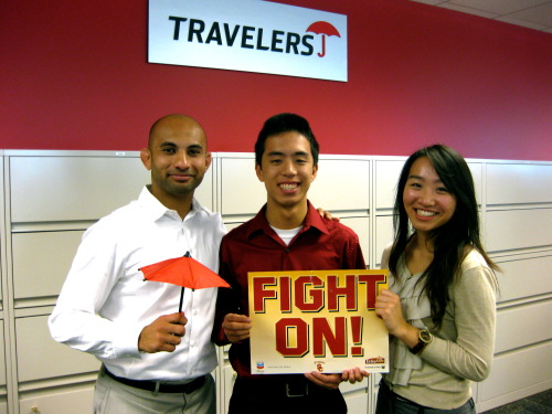 Blog #4 (Day 3): Michelle Lau- Traveler's Insurance Abdel, Underwriter for Bonds and Financial Services