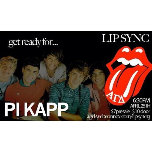 Org Sneak Peek Day 6… PI KAPPA PHI 😉  1 DAY till Lip Sync…buy your tickets!!  #AGDLIPSYNC_SF #alphagammadeltasfsu #alphagammadelta #agd #sfsu #sfstate #pikappaphi @pikapp_sfsu  (at San Francisco State University)
