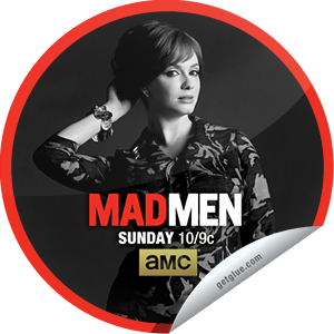 I just unlocked the Mad Men: For Immediate Release sticker on GetGlue                      6918 others have also unlocked the Mad Men: For Immediate Release sticker on GetGlue.com                  Roger changes tack to make new business and Pete has an awkward run-in with a client. Share this one proudly. It's from our friends at AMC.