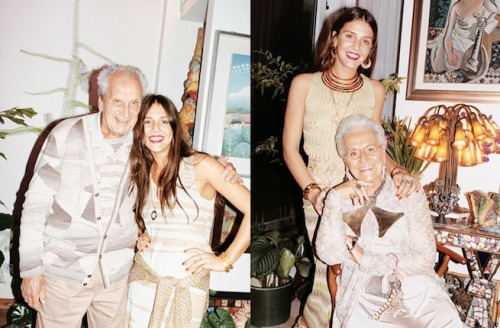 businessoffashion:  Ottavio Missoni | 1921- 2013: The founder of the Italian luxury fashion house that carries his name, died this morning at his family home near Varese, Italy, the company announced in an official e-mail statement. He was 92 years old. #Missoni