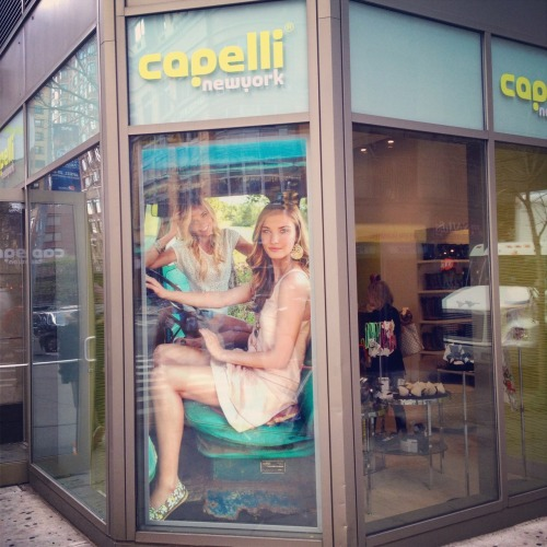 LOL spotted myself in front of the Capelli store on 6th Ave