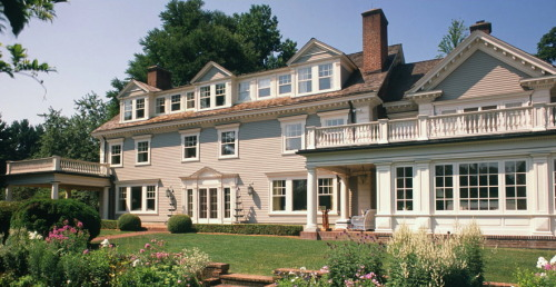 Gorgeous, rambling, clapboard traditional in the Boston suburbs by the endlessly talented people over at Patrick Ahearn Architects.