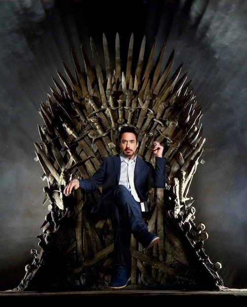 brodierenee:  I'll never get tired of the Game of Thrones and Tony Stark mash up.