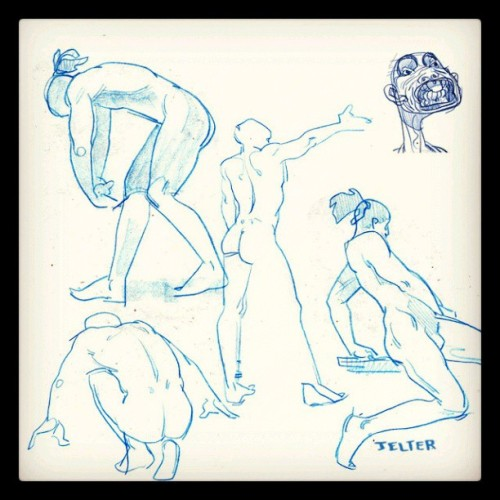 Sunday quickstudies! #art #illustration #figuredrawing #drawing #pencil #quickstudies