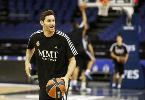 Practice time for the Euroleague Final! You got this, Rudy!