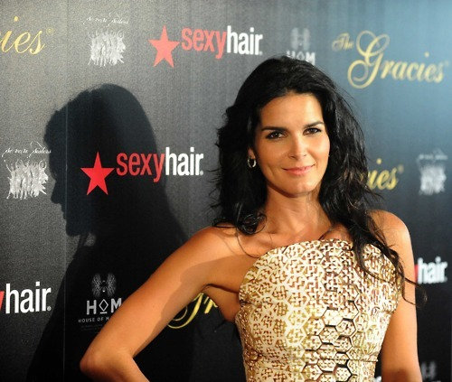 Angie Harmon. An angle sent from heaven to torture us with her beauty.