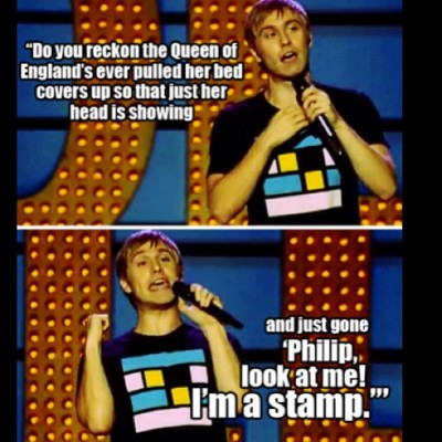 maardy-buum:  I am far to amused by this :')  #russellhoward #comedian