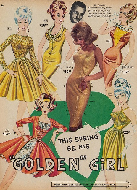 retrogirly:  Vintage Fredericks Of Hollywood