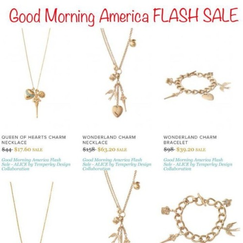 The entire #AliceTemperly #stelladot collection is #onsale for 60% off via @GoodMorningAmerica and the fab @toryjohnson's #StealsandDeals - today only until supplies last. Great #MothersDay and #Graduation gifts or for you!