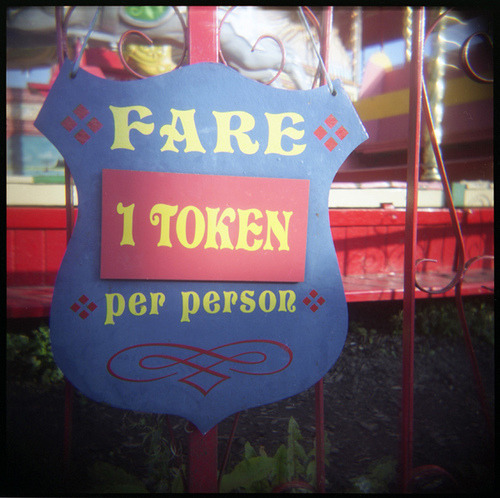 put-a-penny-in-the-slot:  1 TOKEN on Flickr.