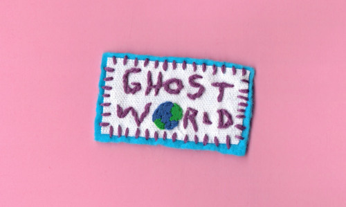 Embroidered Ghost World Patch