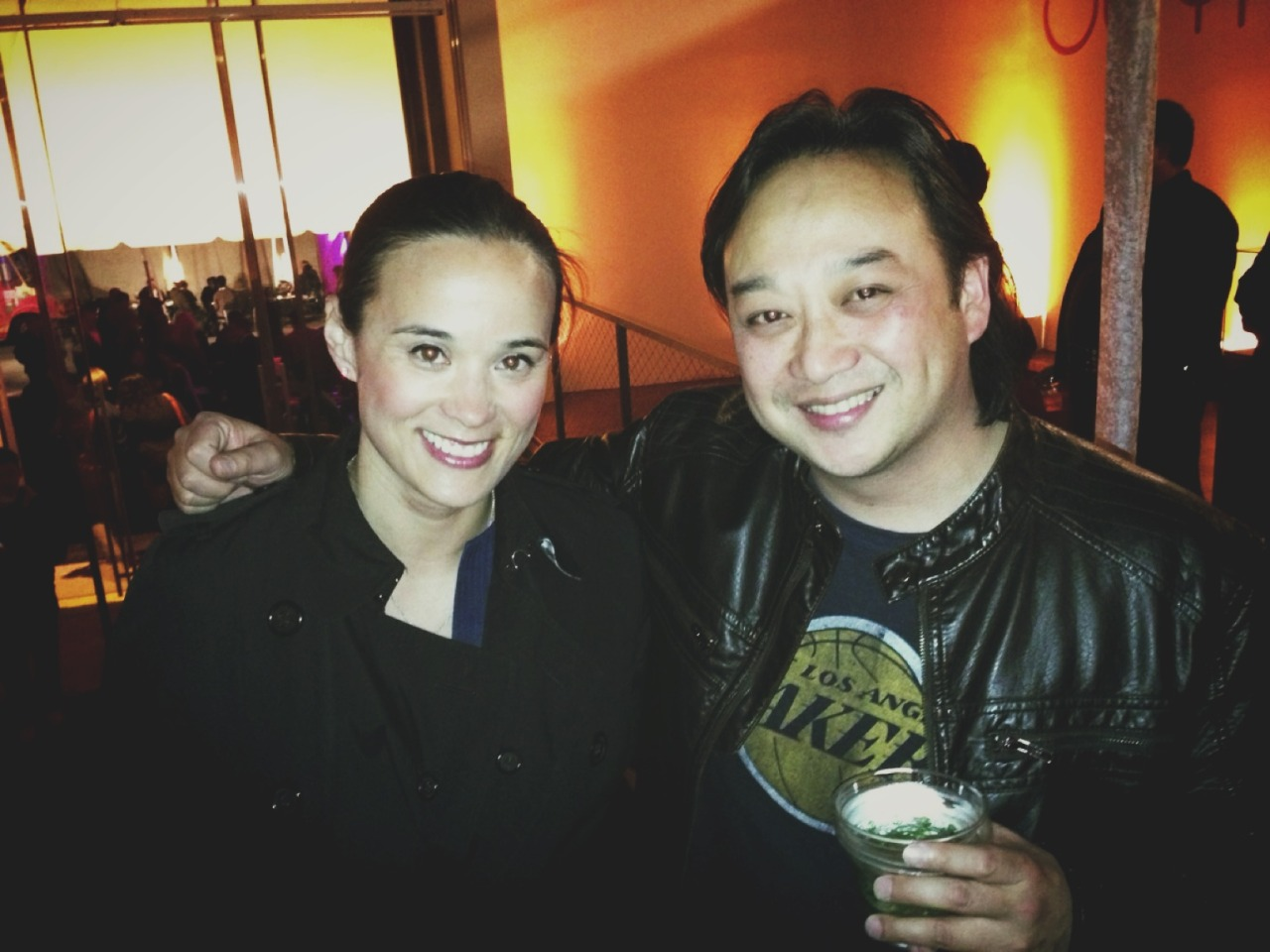 #OUYAUNVEIL Party. with Amanda at Fuseproject – View on Path.