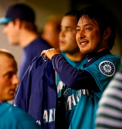 Kuma shines once again going 7 strong innings with 9 K's and Ibañez hits a 3-run bomb as the Mariners beat the A's, 6-3! (Side note: The M's are now only 2 games under .500 at 17-19!)