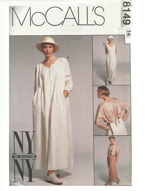 Adele Bee Ann Sewing Patterns — McCall\'s 8149 Sewing Pattern 90s ...
