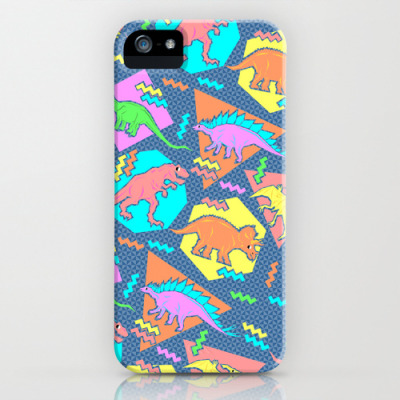 Our Nineties Dinosaur Pattern iPhone Case is on the 4th page (of popular products!) of society6.com! http://society6.com/cases?page=4   http://society6.com/chobopop/Nineties-Dinosaur-Pattern_iPhone-Case
