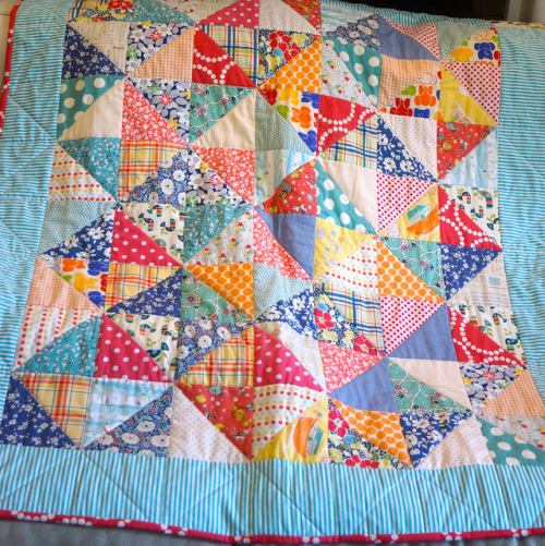 Baby Quilt Finished by Roxy Creations on Flickr.