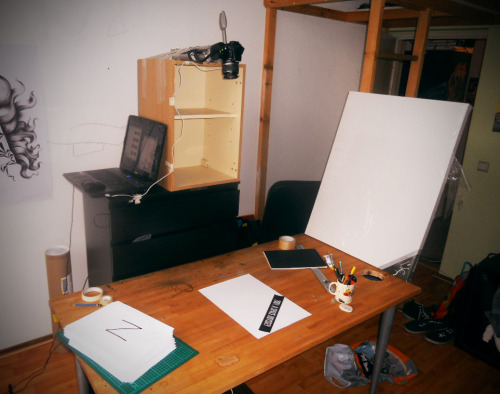 set-up for stopmotion