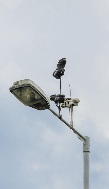 art contemporary art installation street art sneakers inspiration