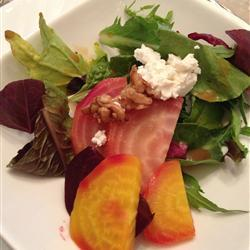 Beet Salad with Goat Cheese, photo by jgbeck