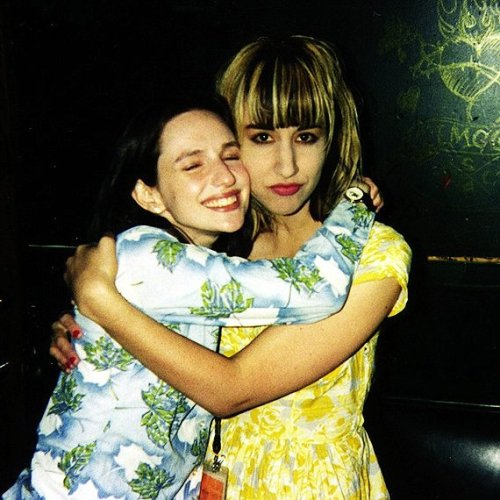 chelsamander:  Kim Shattuck of The Muffs and Nina Gordon of Veruca Salt 1995