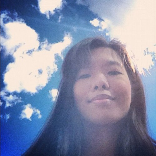 Hello Sunday!:)) #sky #clouds #me