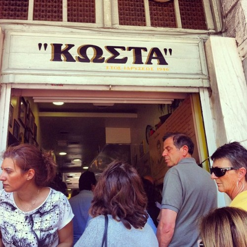 #best #souvlaki in #town  (at Κώστα)