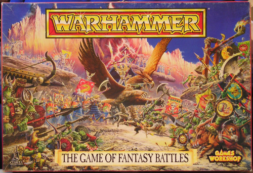 Warhammer 4th edition, 1992.