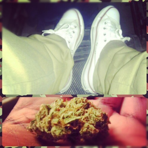 Chuck T's && that Kush Nigga !! #YF #HighSociety